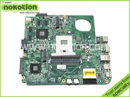 Wholesale Vga Fujitsu - Wholesale-DA0FJ8MB6F0 laptop motherboard for FUJITSU LIFEBOOK LH532 intel HM76 GMA HD 4000 DDR3 Mainboard Mother Boards full tested