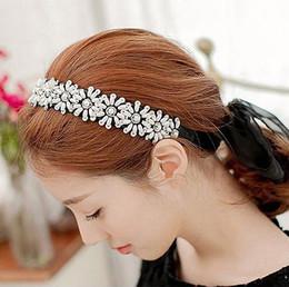 FG1511 Sun Flower Fashion Perle Strass Tête Chaîne Bijoux Bandeau Tête Bande de Cheveux ? partir de fabricateur