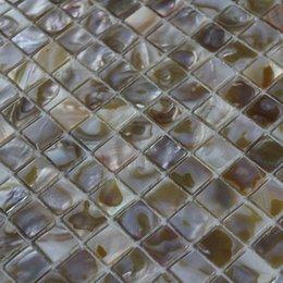 [ENVÍO LIBRE] madre 15x15mm color natural del mosaico de la cáscara de la perla, azulejo de la cáscara, para mobiliario de decoración de interiores se utiliza # MS099 desde fabricantes