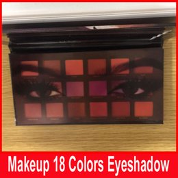 Wholesale Cheap Cosmetics Makeup - New Eyeshadow 18 colors Palette Shimmer Matte Eye shadow Pro Eyes Makeup Cosmetics Cheap