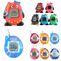 Juegos de arcade de juguete online-Juego Retro Juguetes Mascotas En Uno Vintage Virtual Mascota Cyber Juguete Juguetes Divertidos Tamagotchi Mascota Digital Juego Infantil Niños con Llavero Nostálgico