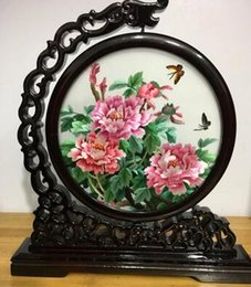 Wholesale Business Meeting Gifts - Suzhou embroidery double-sided embroidered ornaments | embroidery handmade business meeting gifts