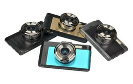 "Wholesale Micro Sd Card G - Wholesale-new Arrival GT100 Novatek 96650 Car DVR 3.0"" Night Vision ADD Micro SD Dual Camera HD 1080P Alloy shell Optional GPS Module"