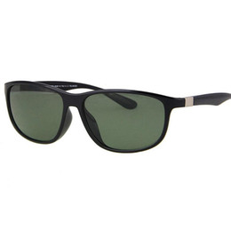 Wholesale Nylon Sunglasses - 2018 Polarized LITEFORCE Sunglasses Women Shiny black G15 4213-F 601S 9A Glasses Nylon frame+Resin lens (with Box) for Driving
