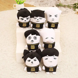 Wholesale Soft Quality Doll - BTS Plush Dolls Korea Stars Plush Toys Cartoon Character Doll Children Adults Christmas Birthday Novelty Gifts High Quality Free DHL 545