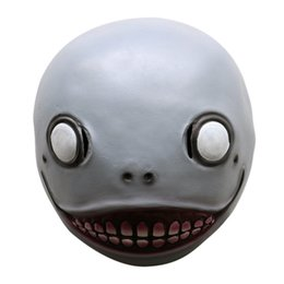 Wholesale Full Alien Costume - Realistic Alien Latex Masks Full Face Animal Monkey Mask Scary Mask Halloween Party Cosplay Prop Masquerade Fancy Dress