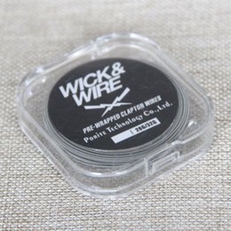 Wholesale Double Resistance - New arrival Clapton wire Clapton Coil heating Wire resistance 5m rda Atomizer DIY Double Twisted Roll Coil 26g +32g Wire for atomizer