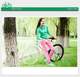 Wholesale Can Brake - 26-inch Fixed Gear Bikes can be changed back brake fly down to ride two-wheeled students live male and female models Fixed Gear Bikes