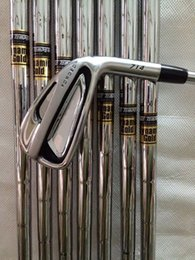 Wholesale Dynamic Gold Shafts Set - golf clubs AP2-714 irons set 3456789P with dynamic gold steel R300 shaft 714-AP2 golf irons 8pcs free headcover