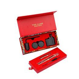Wholesale Electronic Cigarette Pieces - 2015 Red Color the Game Jesus Piece Wax vaporizer Atomizer Dry Herb Vaporizer Vapor E Cigarette kit Electronic Cigar