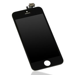 Wholesale High Reputation - Wholesale-Latest Original LCD Screen Designed For iPhone 5G Black HD Display High Resolution High Reputation Free Shipping