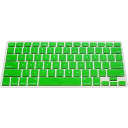 Wholesale Macbook Covers Wholesale - Wholesale-Colorful Silicone Keyboard Cover Protector Skin for US Apple Macbook Pro MAC 13 15 17 Air 13 Laptop 4WGB
