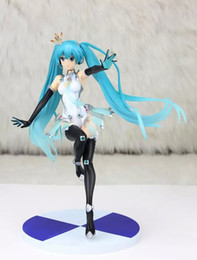 Wholesale Sexy Dolls Action Figures - Miku MIKU sexy model toy figma sexy anime action toy figure Hatsune hand movable doll model