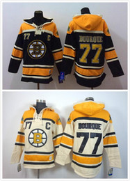 Wholesale Rays Hoodie - 2016 New, Cheap Stitched Bruins ice hockey hoodie #77 Ray Bourque Jersey Hockey Hoodies Sweatshirts