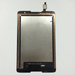 Wholesale Lenovo Lcd Monitors - Wholesale- LCD Display Panel Monitor + Touch Screen Digitizer Sensor Panel Assembly For Lenovo IdeaTab A8-50 A5500 A5500F A5500-H A5500-HV