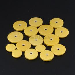 16pcs Jaune Remplacement De Luxe Flûte Pads Musical Vent Instrument pièces ? partir de fabricateur