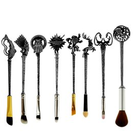 Wholesale Jewelry Tools Accessory - 8pc 5 Style Hot Sale Fashion Women Jewelry Game of Thrones Makeup Brusshes Cosmetic Brush Tool Accessories