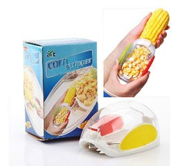 Wholesale Corn Cob Remover Tool - Corn stripper cob remover cutter Corn shaver Corn Peeler Cooking tools Kitchen accessories Novelty household