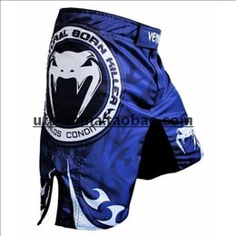 Wholesale Death Clutch - Wholesale-Brock Lesnar Blood Death clutch Red Short MMA Traning Fight short boxing short Free Shipping