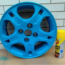 Wholesale Cheap Car Wheels - Wholesale-Wholesale Cheap Germany imported car wheels spraying film hub in the network change color hand painting can peel off glue