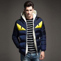 Wholesale Casual White Coats For Men - Wholesale- 2017 New Brand Men's Winter Jackets and Coats Fashion Hooded Men Jacket Causal Warm Coats for Male Thick Overcoats Cotton Padded