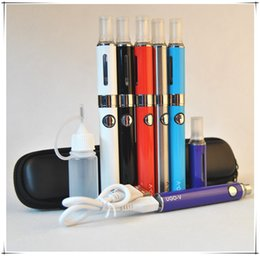 Wholesale Ego V Passthrough - eVod MT3 Atomizer Multi Color eGo Mini Case Starter Kit UGO V 650 900 Micro USB Passthrough E Cigarette Batteries 2.4ml Tank