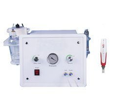 Wholesale Crystal Facial Machine - Portable oxygen facial crystal diamond microdermabrasion machine + Korea MYM electric derma pen microneedle therapy