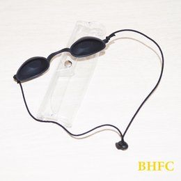 Canada Nouveau Haute Qualité e-lumière IPL Laser Light Eyepatch Protection Lunettes De Sécurité Lunettes De Beauté Machine Clinique Patient Noir Offre
