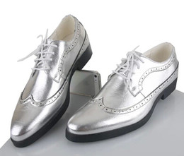 Wholesale Grooms Black Wedding Shoes - NEW classic men's gold leather lace-up shoes fashion leisure business wedding groom shoes breathable shoes mens dress shoes black