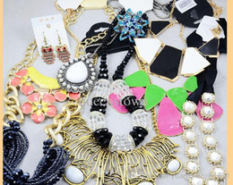 Wholesale Cheap African Style Jewelry - Wholesale -NEW Jewelry Europe Style Necklaces Bracelets Earrings Rings Multi Cheap Jewelry Sets Statement Necklace 500g Free Shipping