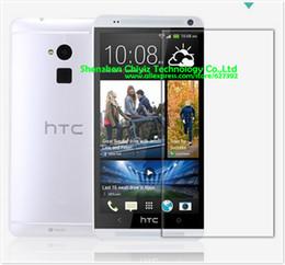 Wholesale One X Screen Guard - Wholesale-1 x Matte Anti-glare Anti glare Screen Protector Film Guard Cover For HTC One Max 8060 8088 809d T6