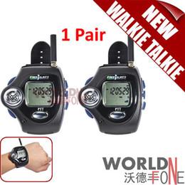 Wholesale Digital Watches Walkie Talkie - Wholesale-FS! 2pcs  Pair Digital Wrist Watch Freetalker RD-820 Walkie Talkie Ham Radio Interphone 2-Way Radio With VOX Operation