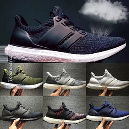 Wholesale Brown Bowtie - Christmas Ultra Boost 3.0 Triple Black and White Primeknit Oreo CNY Blue grey Men Women Running Shoes Ultra Boosts ultraboost sport Sneaker