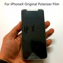 "Wholesale Wholesale Apple Products China - New Products on China market for iPhoneX 5 6 6S 4.7"" 6 Plus 6s Plus 7 Plus 5.5"" Original LCD Polarizer Film Polarizer light"