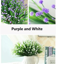 Wholesale Country Style Wedding Decorations - Country Style Gypsophila babysbreath Simulation flowers artificial flowers brews series desktop decoration wholesale free shipping SF1102