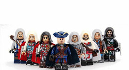 Wholesale Assassins Creed Toys - 8pcs Set Building Blocks Sets china brand assassins creed compatible with Lego