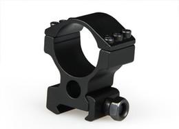 La nueva llegada 30 mm High Scope Weaver montaje en anillo se ajusta en un riel de 20 mm para el envío gratuito de Airsoft CL24-0101 desde fabricantes