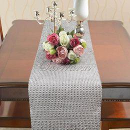Wholesale Cake Silver - 5pcs lot 24cm x 5 yards Sparkle Silver Diamond Mesh Rhinestone Wrap Ribbon for Wedding Party Decoration Candle Bouquet Vase Decoration