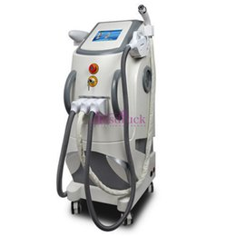 Wholesale Ipl Laser Treatment Machines - 3in1 Professional IPL Hair Removal Laser Tattoo Removal Elight RF Skin Rejuvenation Machine Skin Care Beauty Equipment