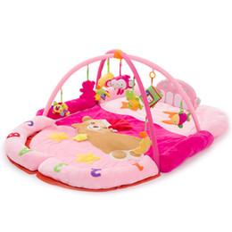 Fun Bear Piano Fitness Rack avec hochet musical nouveau-né bébé multifonction activité tapis de jeu éducatif bébé jouets de sport ? partir de fabricateur