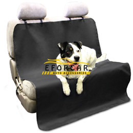 Wholesale car blankets - Pet Dog Cat Car Seat Covers Waterproof Dog cat mats Blanket Pet Dog Cat Car Rear Back Seat Carrier Cushion Protector
