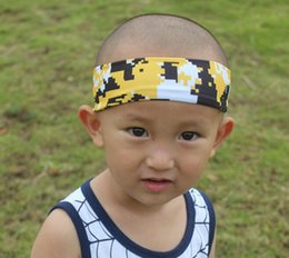 Wholesale Digi Camo - Digital Camo Digi Camouflage cycling Headband fastpitch softball baseball volleyball sports,More than ten kinds of color, 3 inds of size