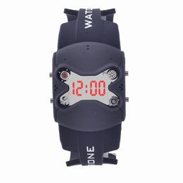 Wholesale Trendy Led Watches - LED Display Trendy Sport Watches Unisex Resin Surface Best Silica Watches New without Tags Discount Mens Watches for 002-16