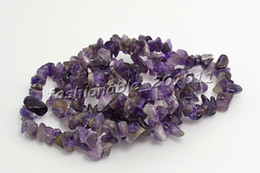 Wholesale Gemstones Chips - 12Pcs Lot Various Gemstone Chips Bead Bracelet Bangle Stretchy Amethyst stone Bracelets fit Girls
