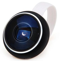 Wholesale Degree Super Wide Angle - Professional 235 Degree Fish Eye fisheye lens Super Widest angle For iPhone For Samsung For mobile phones len of Digital Camera