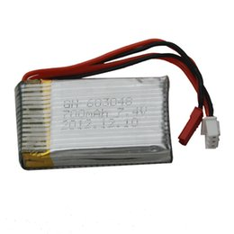 Wholesale Rc Helicopter F46 - MJX F46 RC Helicopter Spare Parts 7.4V 700mAh Battery 019