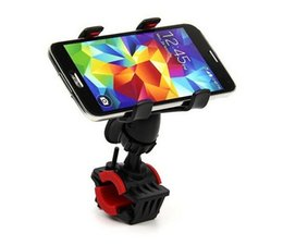 Wholesale Gps Case Bike - Universal Bike Bicycle Handle Phone Mount Cradle Holder Cell Phone Support Case Motorcycle Handlebar For CellPhone GPS
