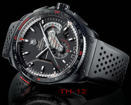 Wholesale Dive Watch Ceramic - Luxury Brand mens TAG &#72euer watches Automatic machinery fashion style dive watch movement