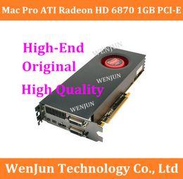 Wholesale Ddr2 1gb - High Quality 100% Original for Mac Pro ATI Radeon HD 6870 1GB PCI-E Video Card macpro high -end graphic card order<$18no track