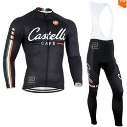 Wholesale Bike Mtb Full - Winter Thermal Fleece Team Cycling Jersey Ropa Ciclismo Invierno  Super Warm MTB Bike Clothing Set+Racing Bicycle GEL Pants